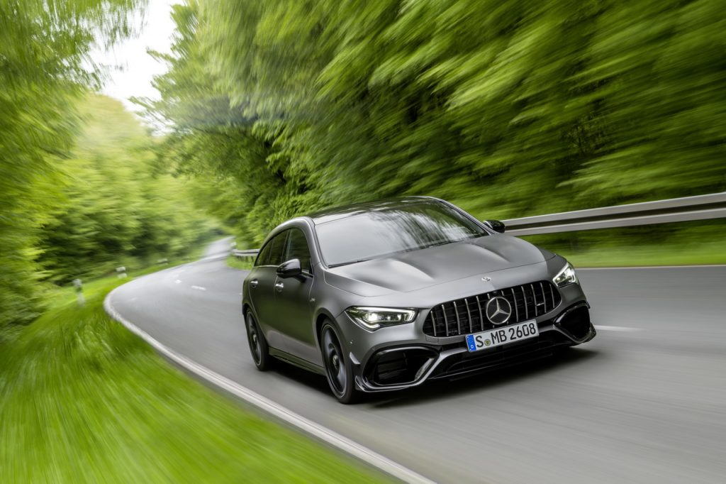Novo Mercedes-AMG CLA 45 4MATIC+ Shooting Brake