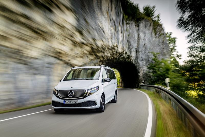 Mercedes-Benz EQV – Estreia mundial do primeiro MPV premium totalmente elétrico